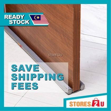 [Link to save shipping fee] 95cm Door Gap Bottom Seal (Brown / Black / Grey) Flexible Sound Proof Wind Dust Blocker门底密封条